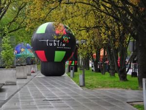 Deszczowy Lublin na ostatnim etapie